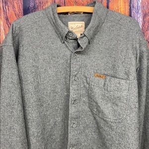 Woolrich Sportsman Chamois Gray Shirt XL